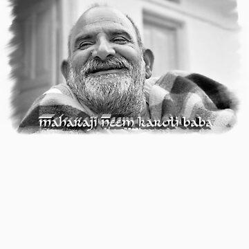 Maharaji Neem Karoli Baba by powerboxx