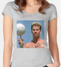 Playin' With The Boys Women's Fitted Scoop T-Shirt
