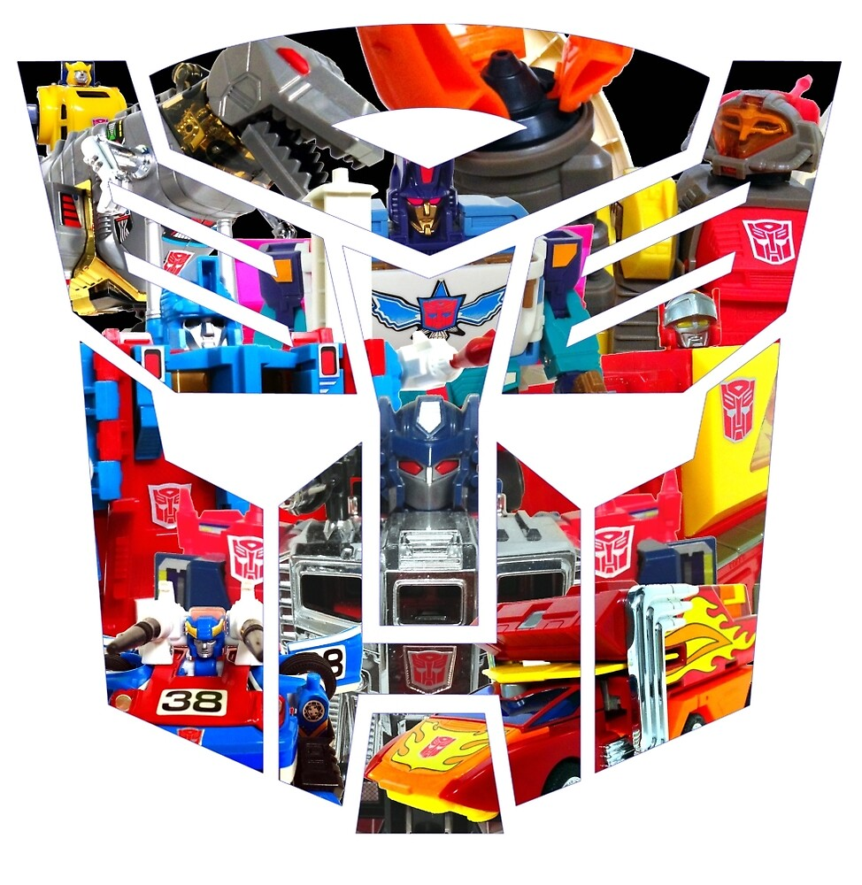 TRANSFORMERS FIGURES!!! Generation 1 Autobot Logo  by atomicthumbs78