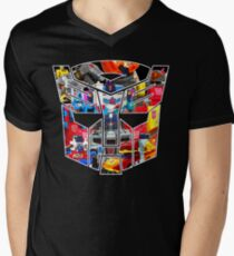 TRANSFORMERS FIGURES!!! Generation 1 Autobot Logo  Men's V-Neck T-Shirt