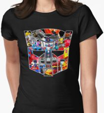 TRANSFORMERS FIGURES!!! Generation 1 Autobot Logo  Women's Fitted T-Shirt