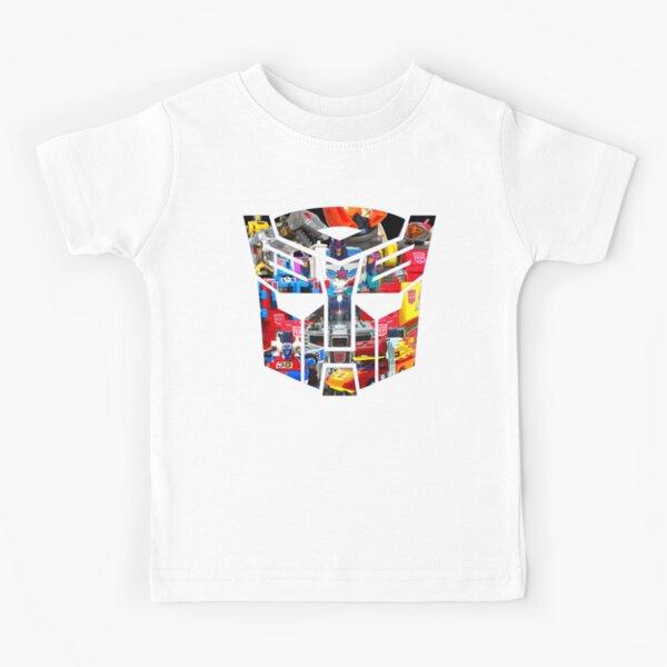 FIGURES TRANSFORMERS !!! Génération 1 Autobot Logo T-shirt enfant