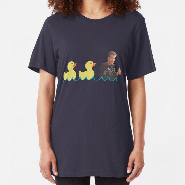 Duck...Duck...Goose! Slim Fit T-Shirt