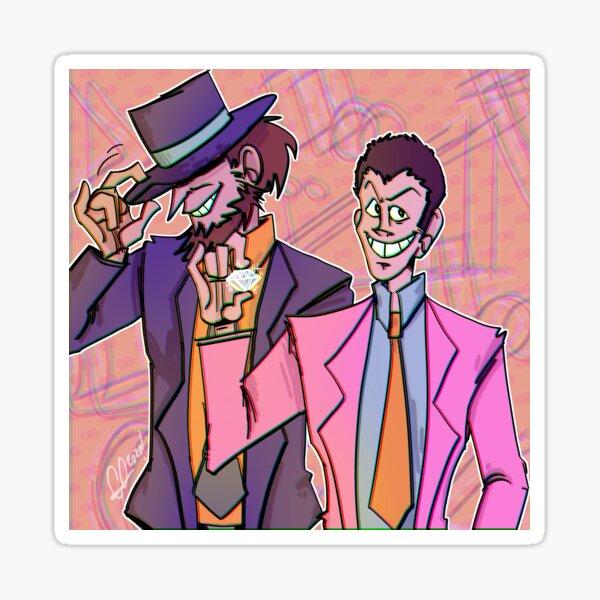 Lupin The Third/ Jigen and Lupin Sticker