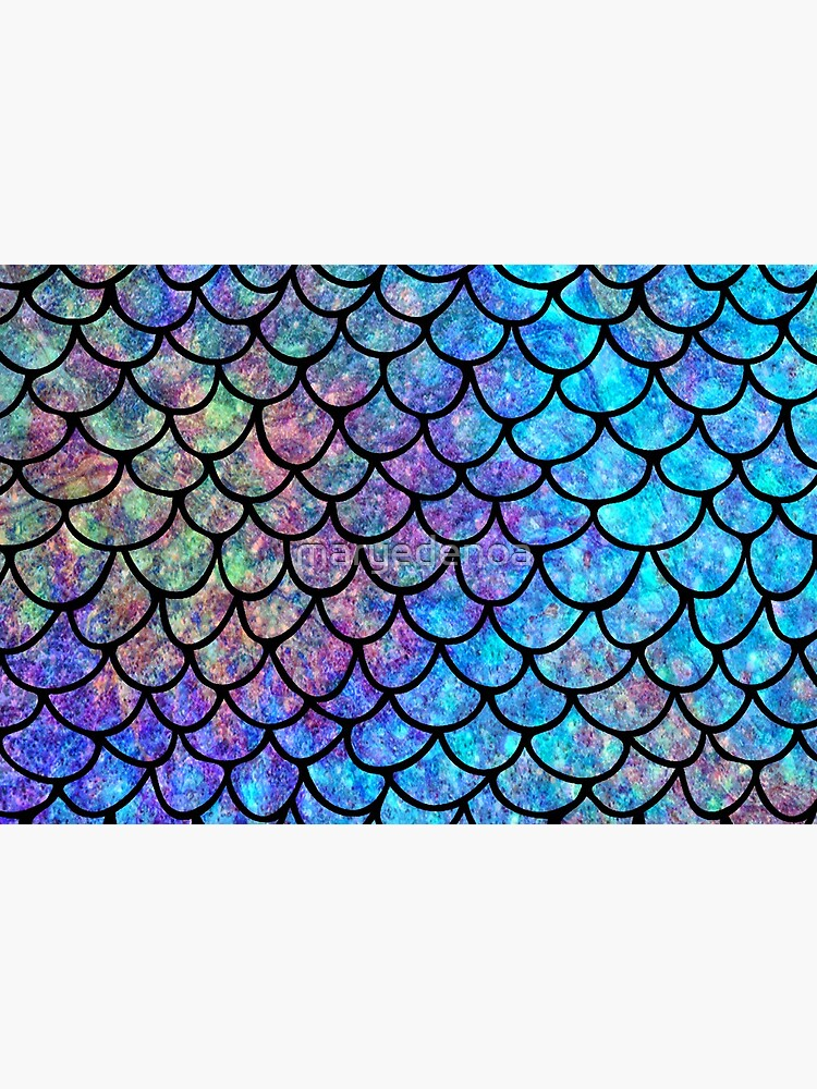 Colorful Mermaid scales by maryedenoa