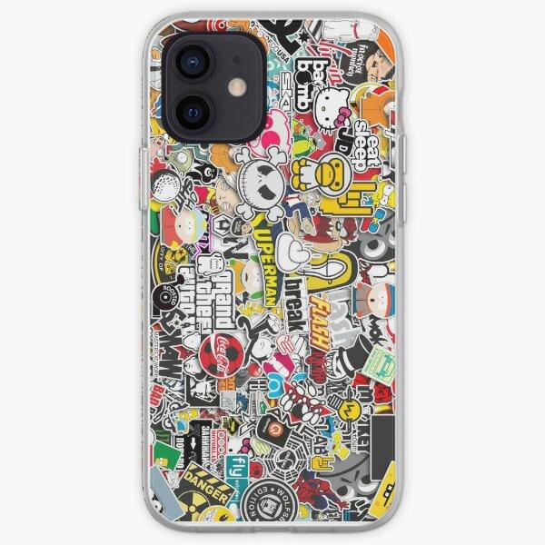Sticker Bomb iPhone Soft Case