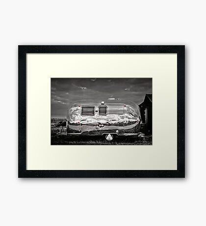 Airstream USA Framed Print