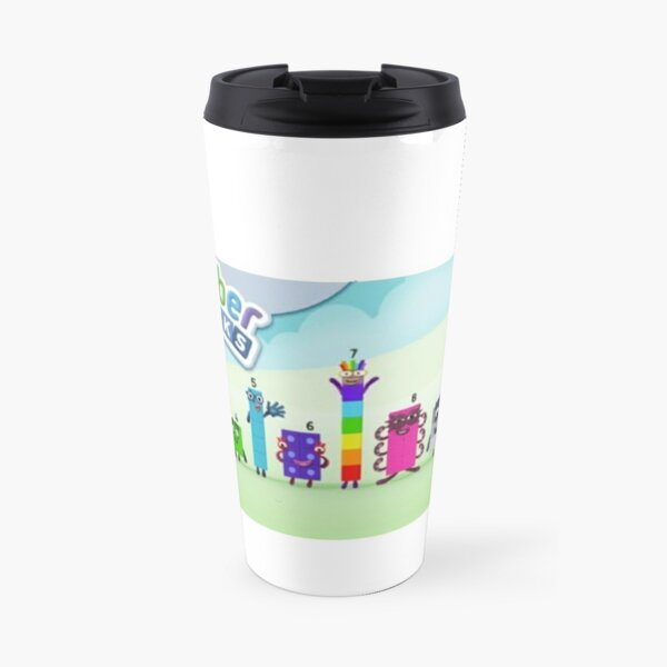 Numberblocks cartoon 1 to 10 Travel Mug