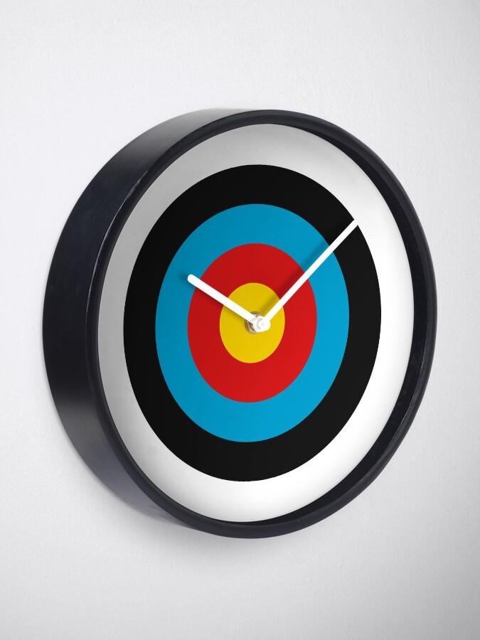 Alternate view of Archery Target Clock