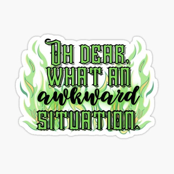 Awkward Situation Sticker