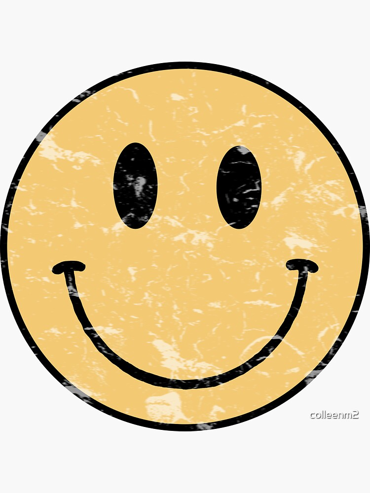 Vintage smiley face  by colleenm2