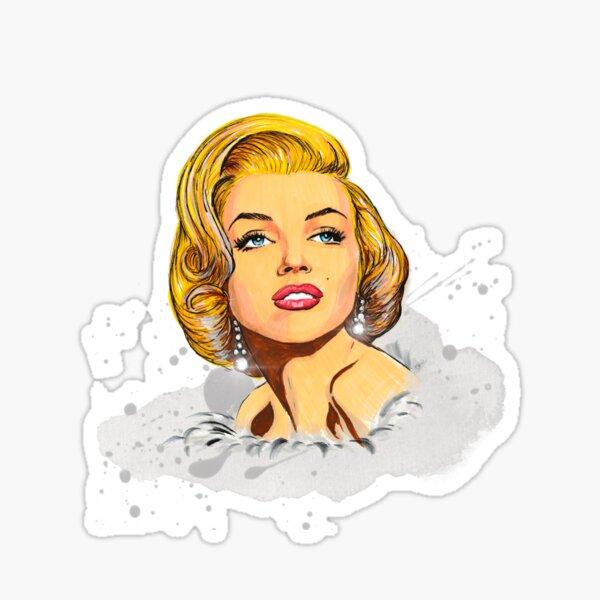 Marilyn Monroe Pegatina