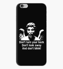 Weeping Angel, Don't Blink... iPhone Case