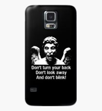Weeping Angel, Don't Blink... Case/Skin for Samsung Galaxy