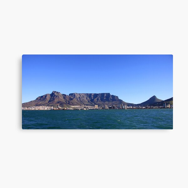 (Table) Mountain Magnificence Canvas Print