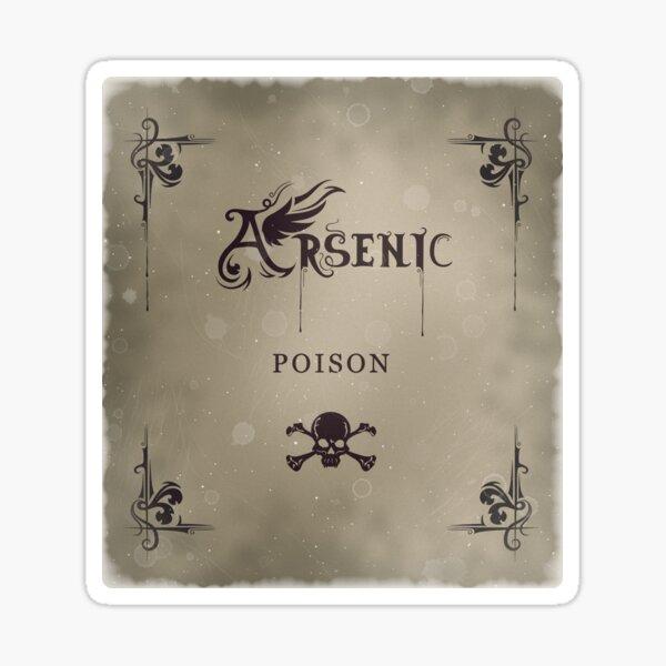Bottle Label Arsenic Filter Sticker