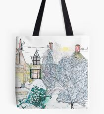Snow scene number 2 Tote Bag