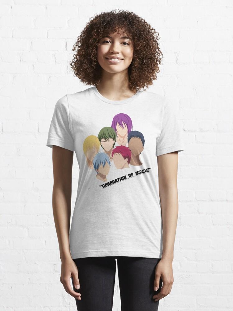 Alternate view of Kuroko no Basuke: Generation of Miracles Essential T-Shirt
