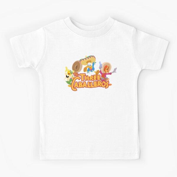 The caballeros, three amigos in technicolor Kids T-Shirt