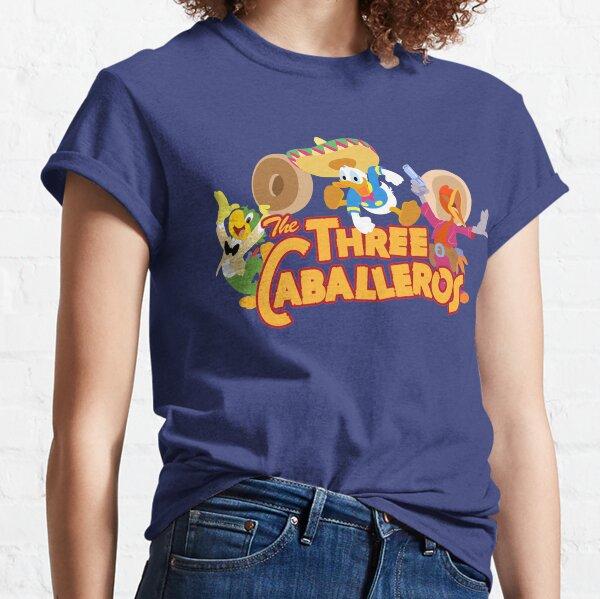The caballeros, three amigos in technicolor Classic T-Shirt