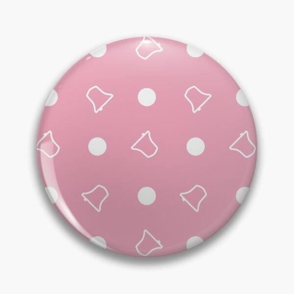 Bell Ringing - POLKA DOTS & BELLS Pink Pin