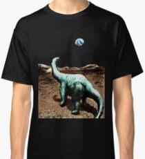 Dinosaur on the Moon Classic T-Shirt
