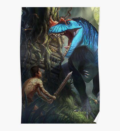 Ceratosaurus Time Poster