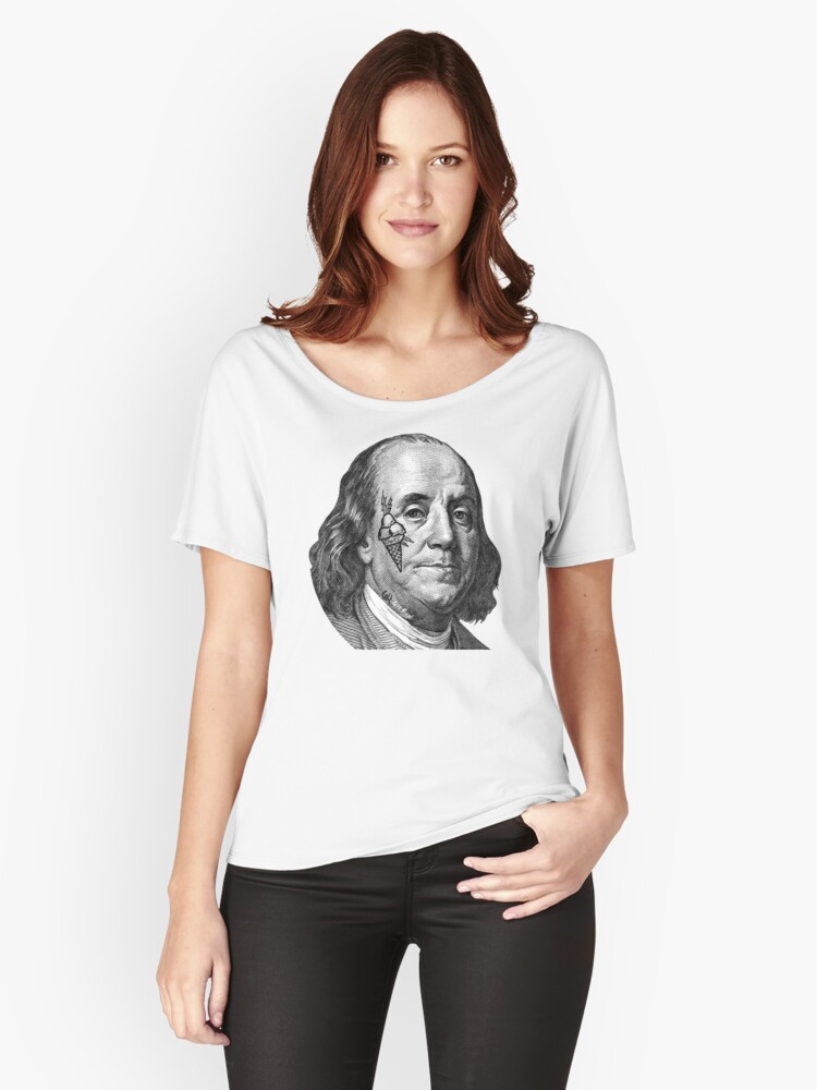 COLD HUNNID  Women's Relaxed Fit T-Shirt Front
