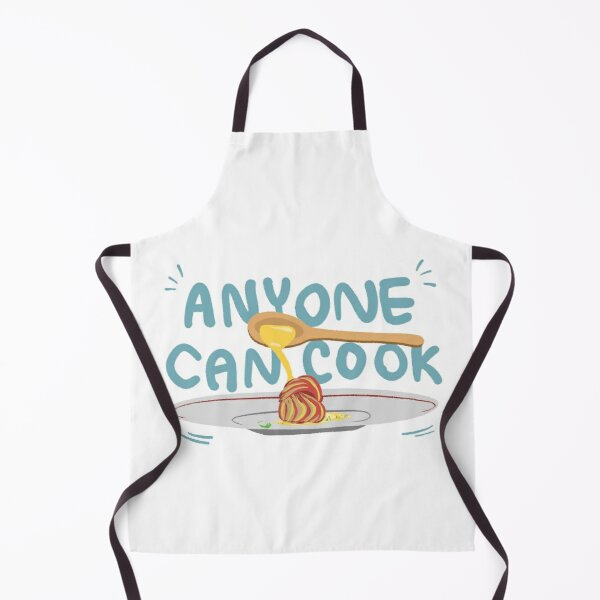 Anyone Can Cook Ratatouille Illustration Apron