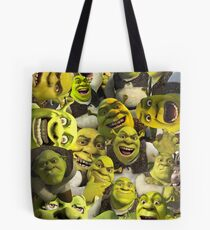 Shrek Collage  Tote Bag
