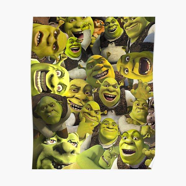Shrek Collage  Poster
