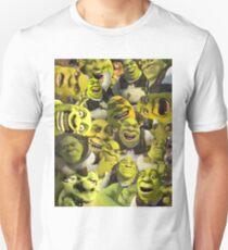 Shrek Collage  T-Shirt