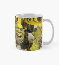Shrek-Collage Tasse