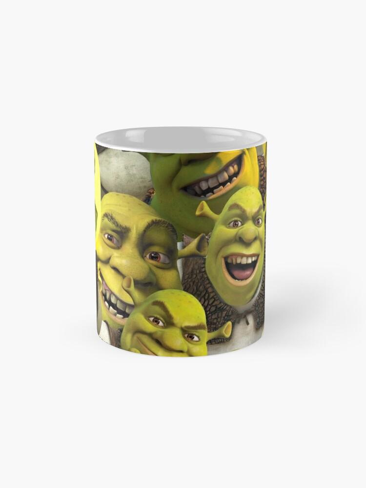 Alternate view of Shrek Collage  Mug
