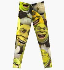Shrek Collage  Leggings
