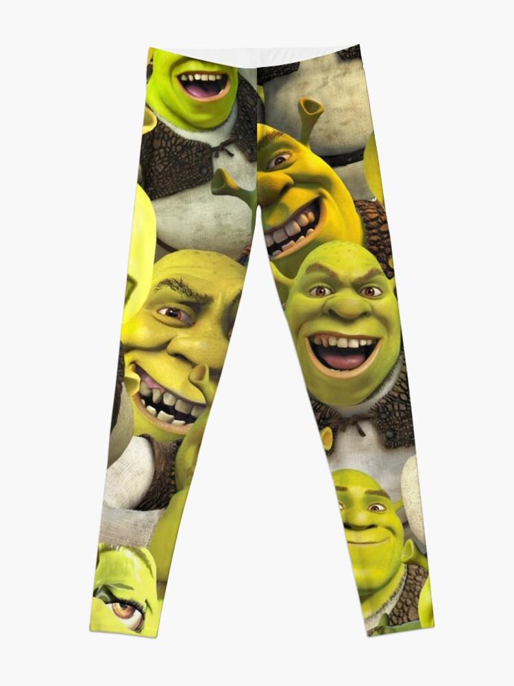 Alternate view of Shrek Collage  Leggings
