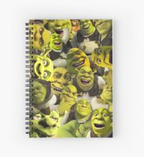 Cuaderno de espiral Shrek Collage