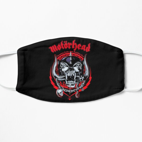 Lemmy head 3 Masque sans plis