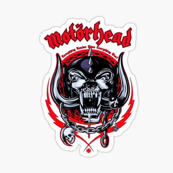 Lemmy head 3 Sticker