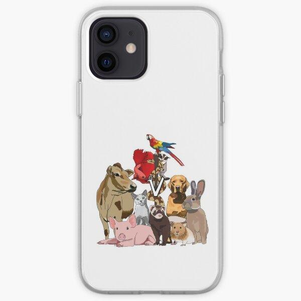 Mixed Animal Medicine iPhone Soft Case