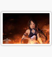 Born of Fire Sticker