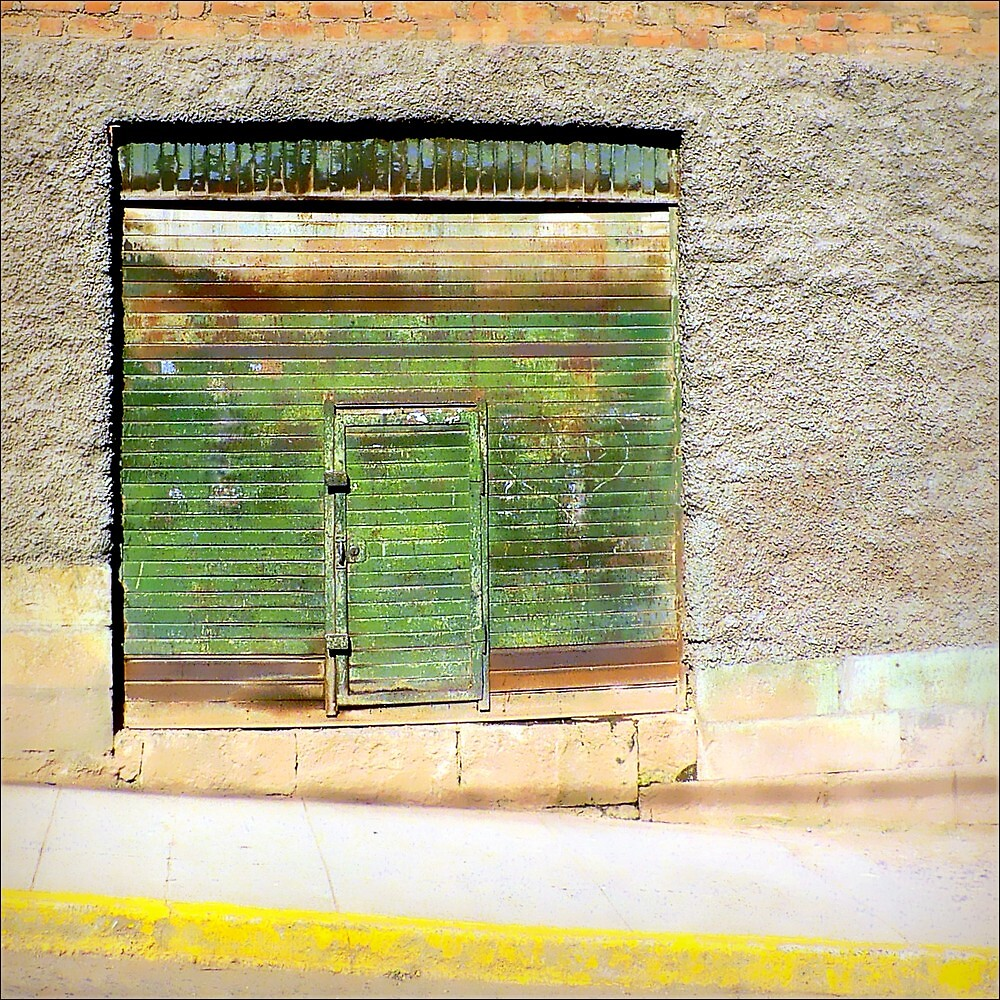 A Quiet Door On a Quiet Street by paintingsheep
