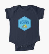I'd rather be playing (Board games CATAN) One Piece - Short Sleeve