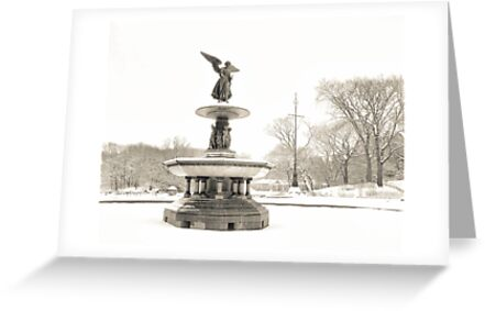 Angel of the Waters - Bethesda Fountain - Central Park by Vivienne Gucwa