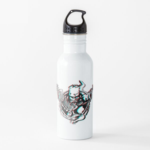 Thunderdome Wizard logo glitchy Water Bottle