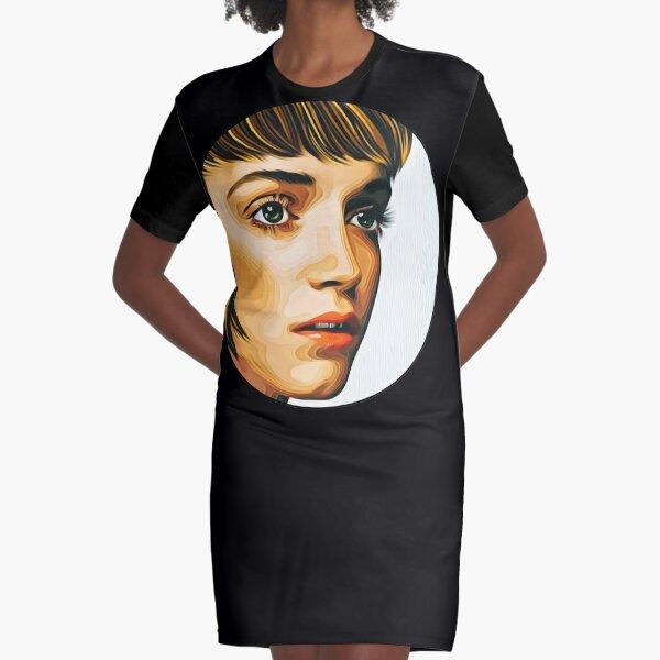 Girl Of Ipanema (2) Graphic T-Shirt Dress
