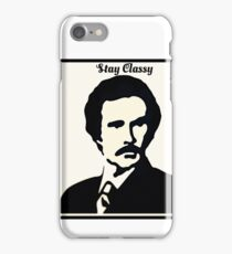 Ron Burgundy - Stay Classy iPhone Case/Skin