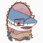 Nerd Shark by Cara McGee