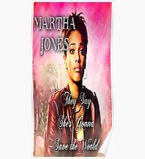 Martha Jones is Gonna Save the World Poster