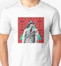 Clark Gable Geo Design T-Shirt